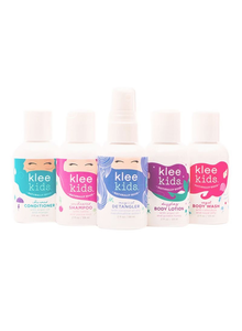 Klee Kids Magical Hair and Body Care 5-Piece Mini Gift Set