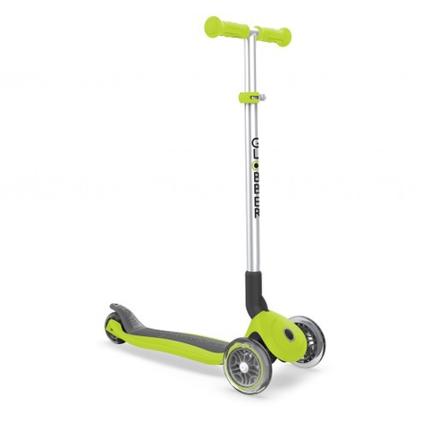Globber Primo Foldable Scooter -Lime Green