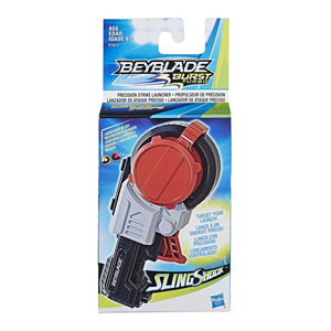 Beyblade Burst Turbo Slingshock Precision Strike Launcher - Compatible with Right/Left-Spin