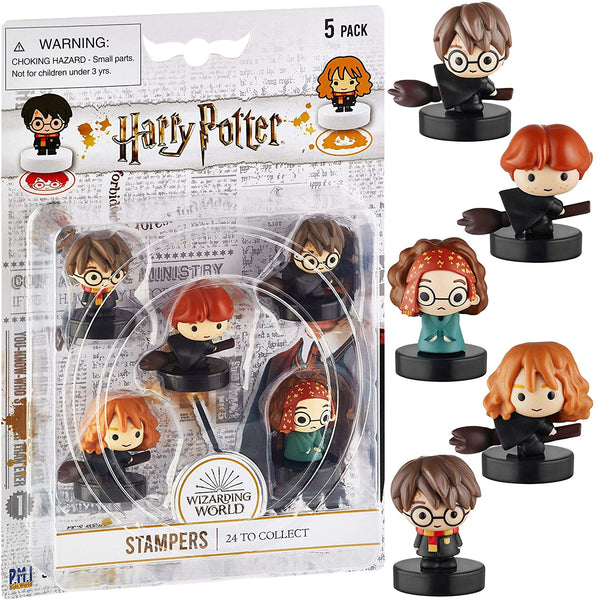Harry Potter Self-Inking Stampers, Set of 5, *Variety Pack*