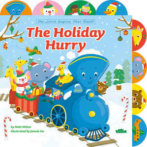 The Holiday Hurry: A Tabbed Board Book