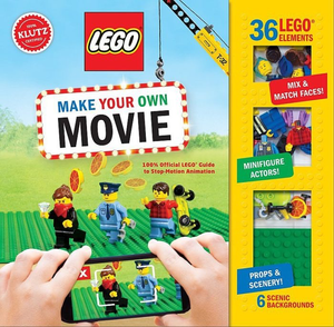 Klutz: LEGO Make Your Own Movie: 100% Official LEGO Guide to Stop-Motion Animation