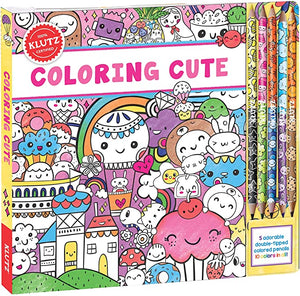 Klutz: Coloring Cute Book