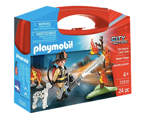 Playmobil City Action Fire Rescue Carry Case