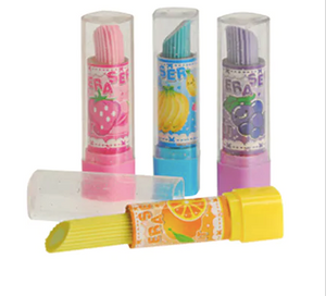 Lipstick Shaper Erasers - Assorted Colors