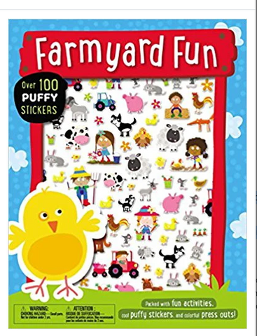 Farmyard Fun Puffy Sticker Book
