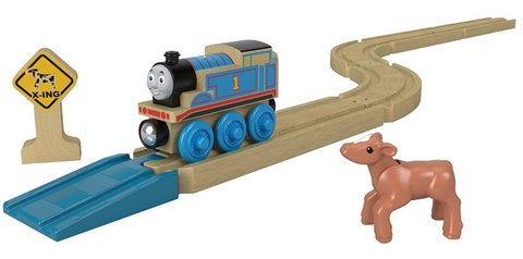 Thomas & Friends Wooden Railway Style: Straights & Curves Track Pack