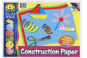 Construction Paper 36 Sheets