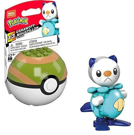 Mega Construx Pokemon Series 13 Oshawott Construction Set