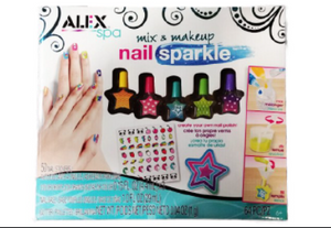 Mix and Makeup Nail Sparkle