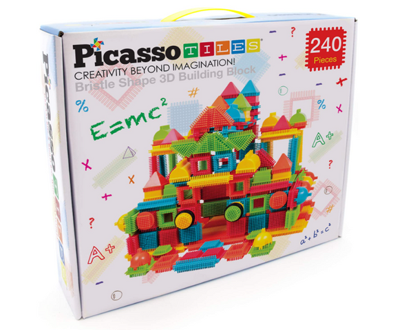 Picasso tiles Bristle Lock 240 Piece