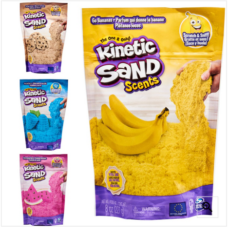 Kinetic Sand Scents 8oz-Assorted - One per order - Random pick