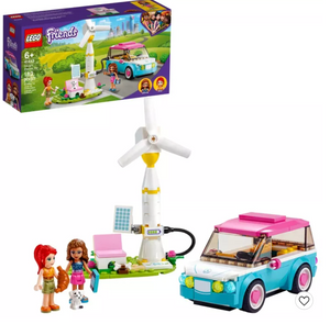 LEGO Friends Olivia's Electric Car Building Kit 41443