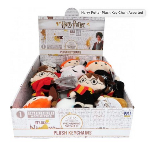 Harry Potter Plush Key Chain Assorted