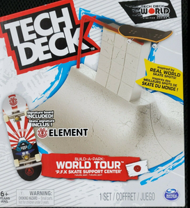 Tech Deck, Build-A-Park World Tour, P.F.K Skate Support Center, Ramp Set