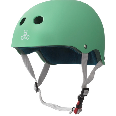 TRIPLE8 CERTIFIED SWEATSAVER HELMET - MINT RUBBER-XS/S