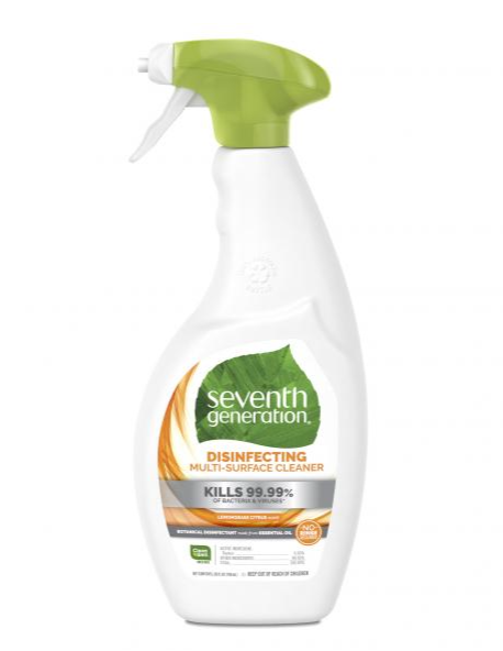 Seventh Generation Lemongrass Citrus Disinfecting Multi-Surface Cleaner - 26oz