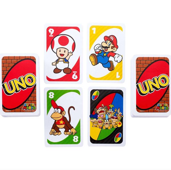 UNO Card Game Super Mario Theme