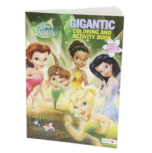 Disney Fairies Gigantic Coloring & Activity Book