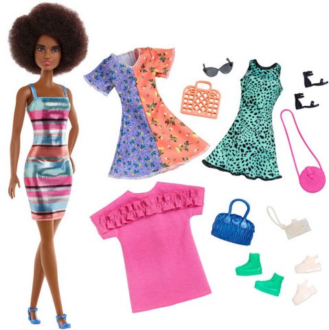 Barbie Fashion Party Doll and Accessories