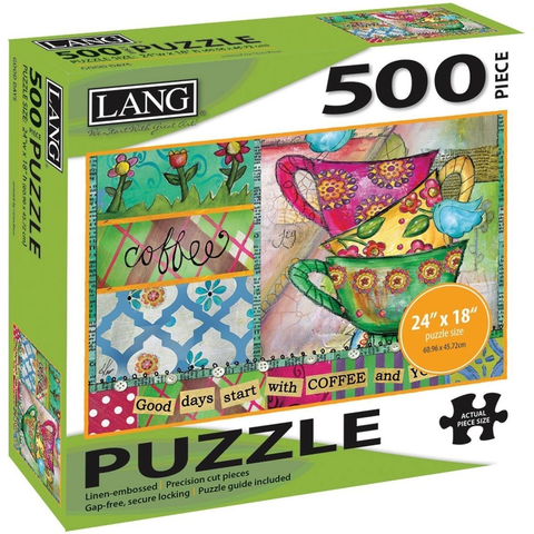 Good Days - 500pc Jigsaw Puzzle by Lang