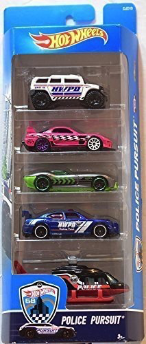 5 Pack Hot Wheels Gift Set