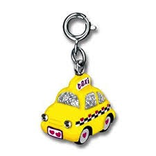 Yellow Taxi Charm
