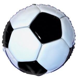 "Unique 18"" Foil Soccer Party Balloon"