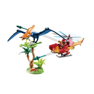 Playmobil 9430 Adventure Copter with Pterodactyl