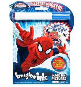 Bendon Marvel ultimate Spider-Man Magic Ink Coloring Book