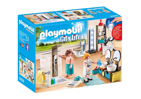 Playmobil City Life Bathroom 9268