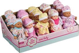 Toy Smith Mini Babies- Multi SKin Tone