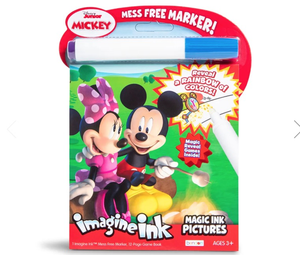 Bendon imagine ink magic ink pictures Disney junior Mickey