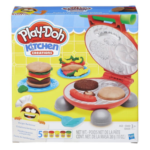 Play-Doh Kitchen Creations -Burger Barbecue