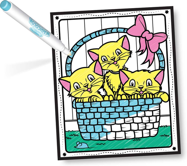 Melissa & Doug Magicolor Coloring Pad - Friendship & Fun