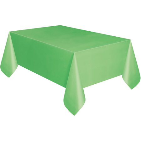 "Unique LIme Green Table Cover 54"" x 108"
