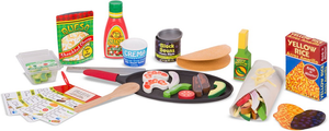 Melissa & Doug Fill & Fold Taco Tortilla Set