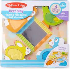 Melissa and Doug First Play touch and feel puzzle