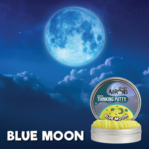 "Crazy Aaron's Thinking Putty Blue Moon - 4"" Tin"