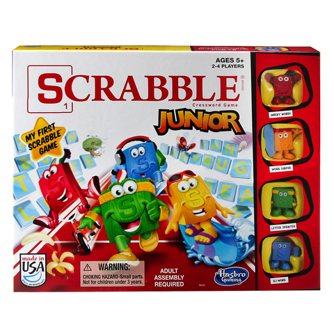 Hasbro Scrabble Jr
