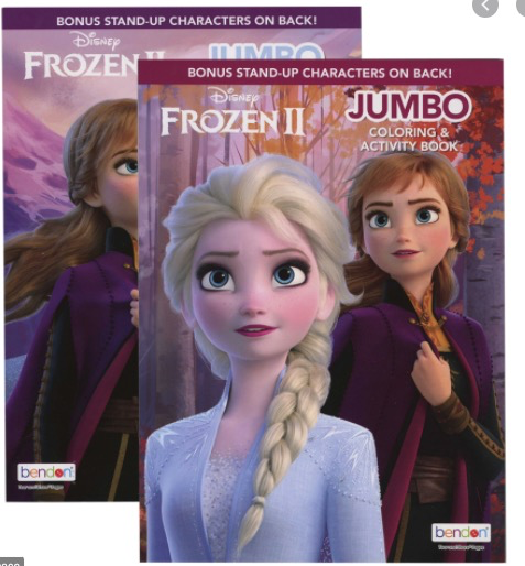 Bendon Jumbo Coloring & Activity Book Frozen II
