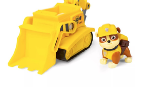 Paw Patrol Toy Vehicle Bulldozer - Rubble