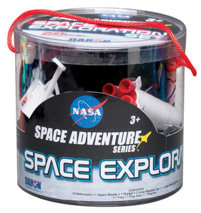 Daron Space Adventure Space Exploration Playset 20 Piece