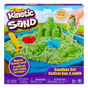 Spin Master Kinetic Sand Box Set - Green