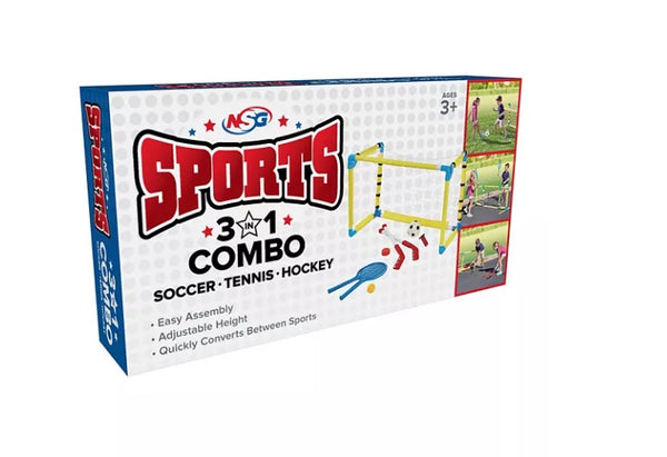 National Sports Goods 3 in 1 Combo Sports Set