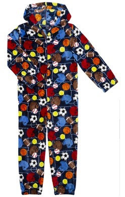 Sovereign Athletic Ball Sports Pajamas Size 7/8