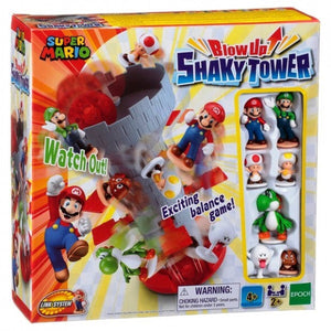 Super Mario Shaky Tower Game