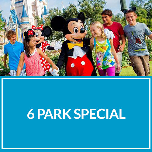 6 PARK SPECIAL (Disney + Seaworld) - NO DISPONIBLE - Sun Tours Orlando
