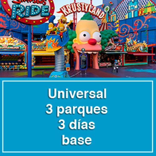 Universal Studios - 3 parques, 3 días base - No Disponible - Sun Tours Orlando