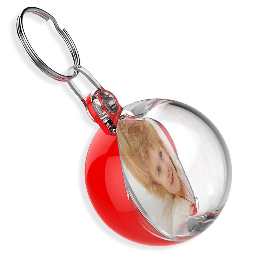 Personalised Bauble Keyring | 38mm x 38mm
